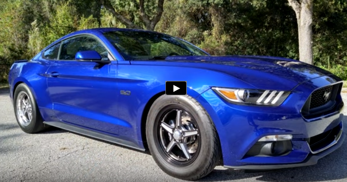 vmp supercharged 2015 mustang gt drag racing