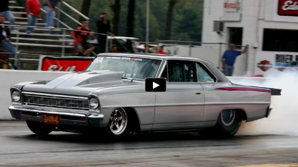six sec chevy nova drag racing