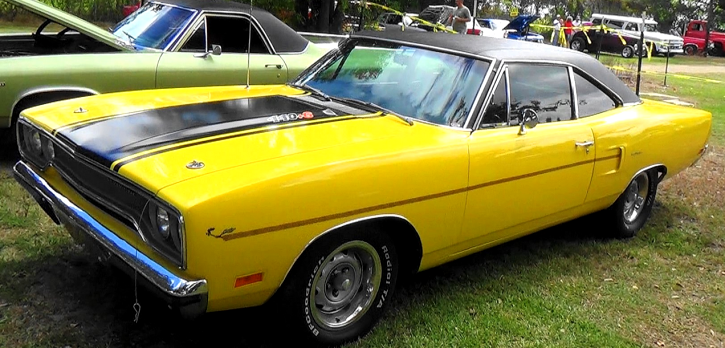 original 1970 plymouth road runner track pack car