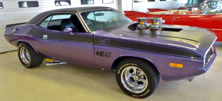 custom 1970 dodge challenger 440 t/a