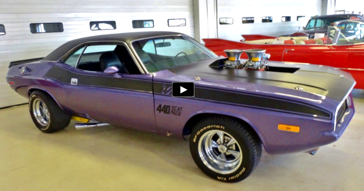 modified 1970 dodge challenger 440 t/a