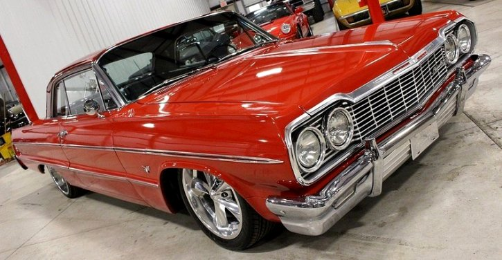 custom built 1964 chevrolet impala