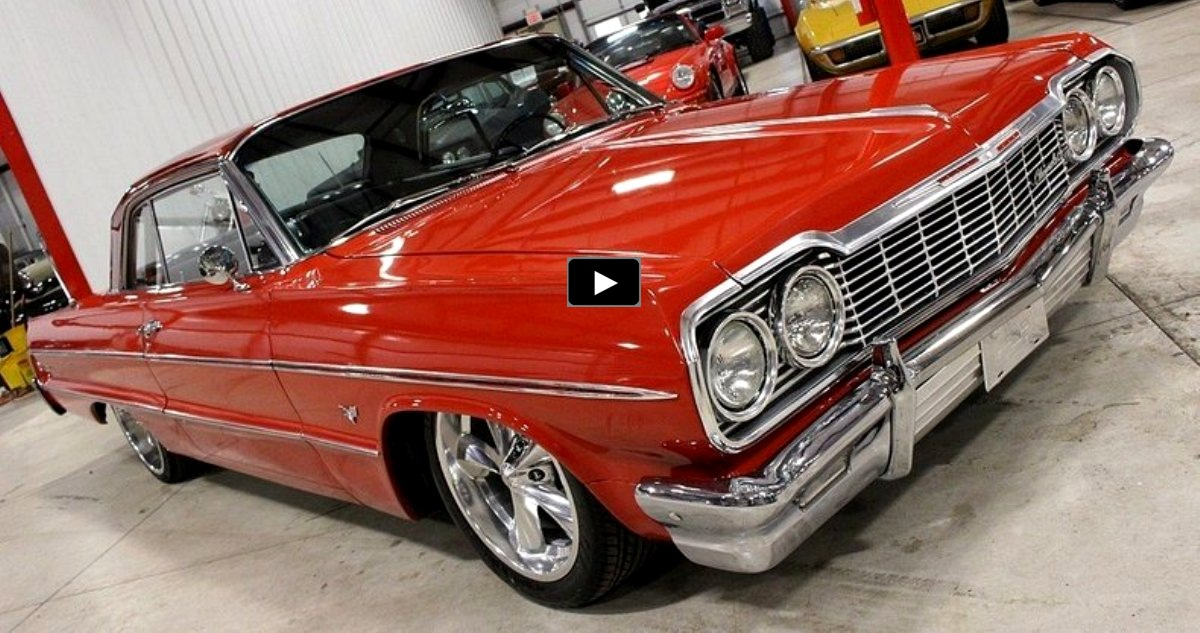 custom built 1964 chevy impala