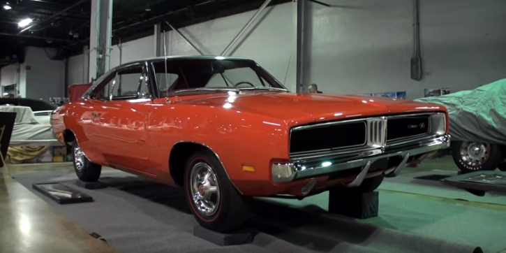charge red 1969 dodge charger r/t restored
