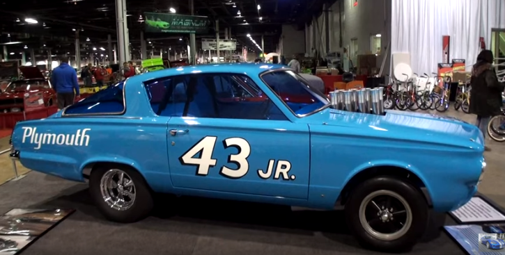 1965 plymouth barracuda richard petty restoration