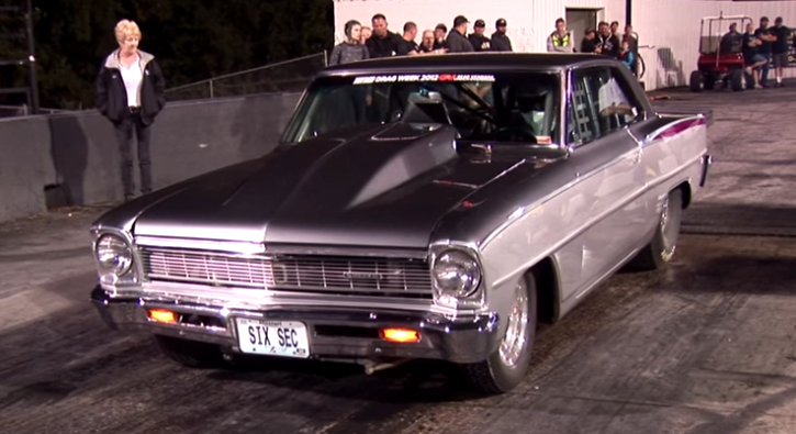 larry larson turbo chevy nova drag racing