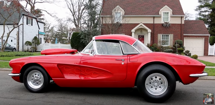 custom built 1962 chevrolet corvette
