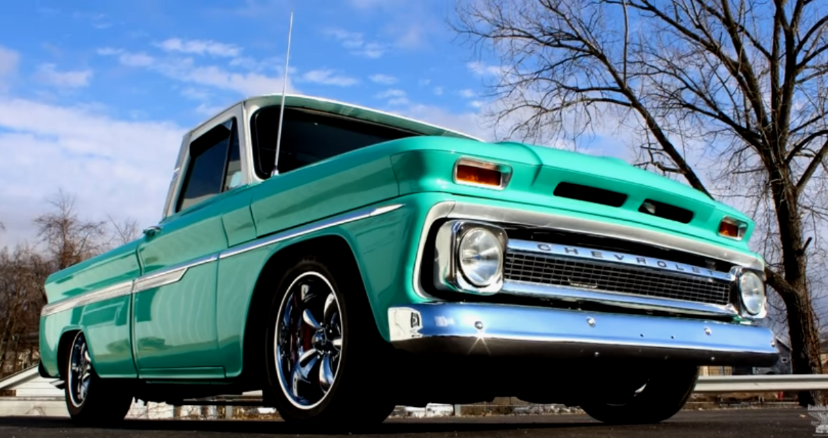 custom built 1964 chevrolet c10 truck