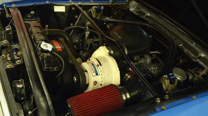 paxton supercharged 1966 ford mustang 289 k-code