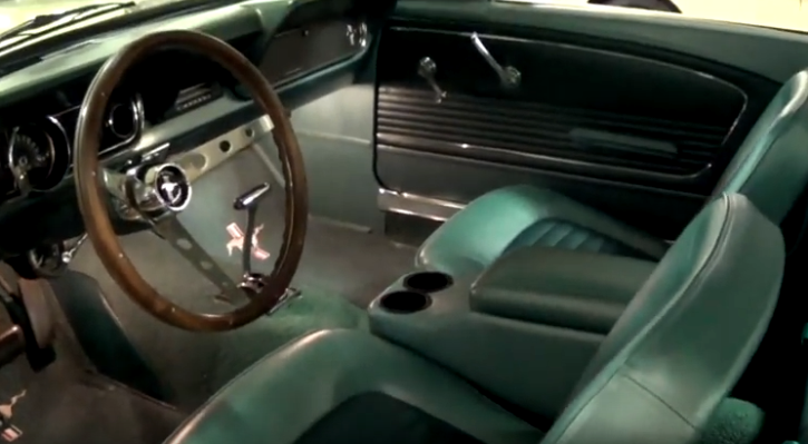 fully restored 1966 ford mustang