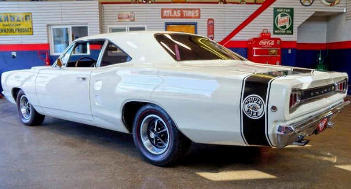 White 1968 Dodge Super Bee 383 Built To Perform Hot Cars