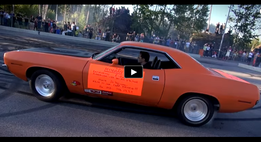 1971 plymouth cuda burnouts