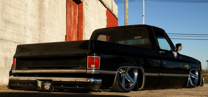 1983 chevy c10 short bed custom truck