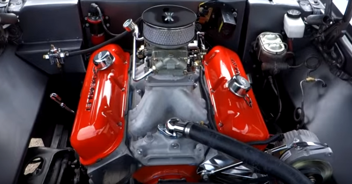 modified chevy nova 468 big block 4-speed