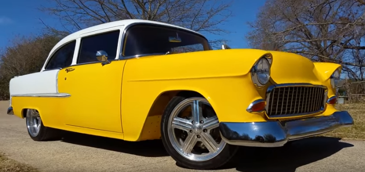 1955 chevy tri-five custom job