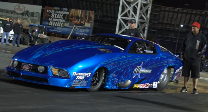twin turbocharged ford mustang pro mod