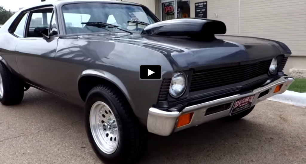 modified chevy nova test drive