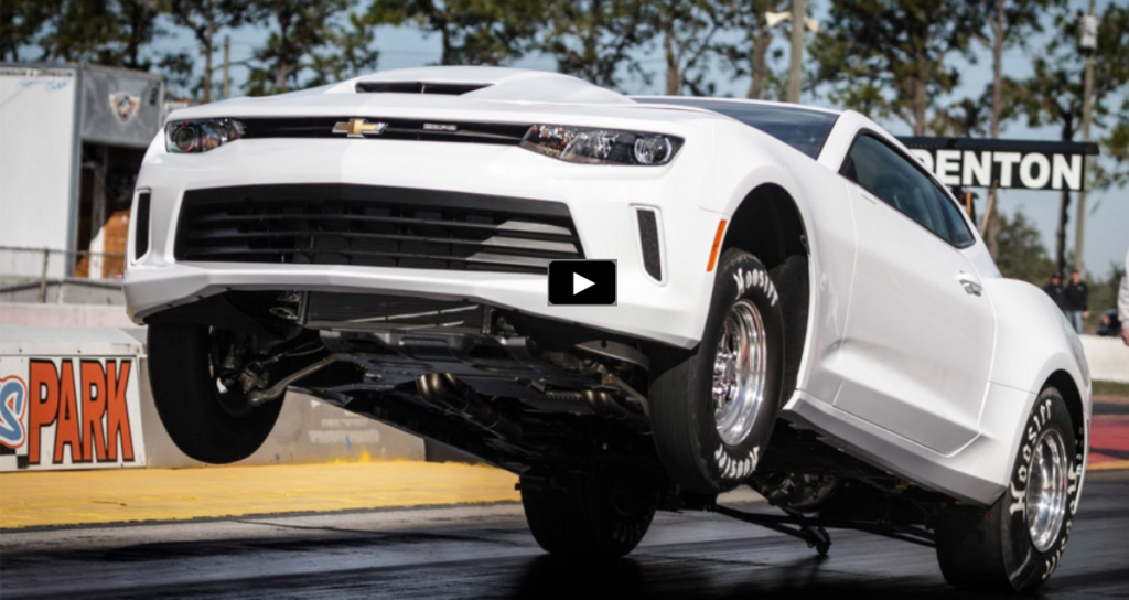 The Outrageous 2016 Copo Camaro Track Footage Hot Cars