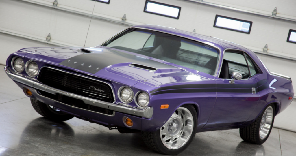 Immaculate Plum Crazy 1972 Dodge Challenger 360 Hot Cars