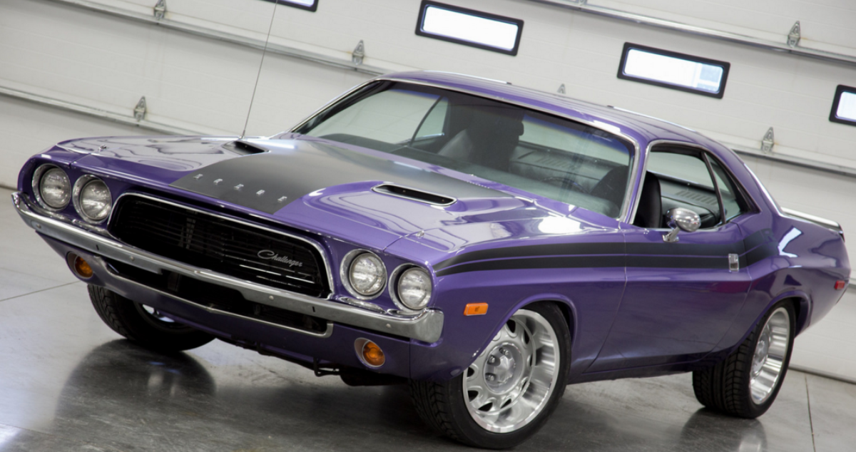 1972 dodge challenger restoration