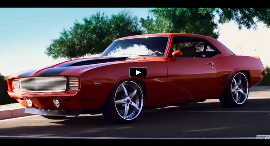 Kindig It Cars For Sale >> Awesome 1969 Chevrolet Camaro Z28 Custom Job | HOT CARS