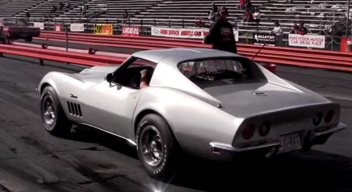 1969 chevrolet corvette L88 drag racing