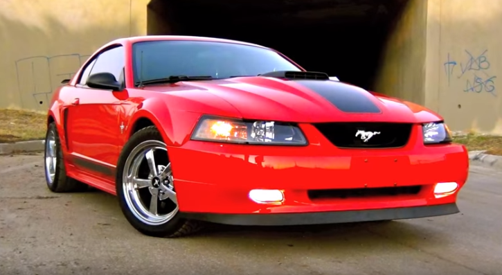 supercharged 2003 mustang mach 1 mods