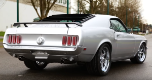 high end 1969 ford mustang build