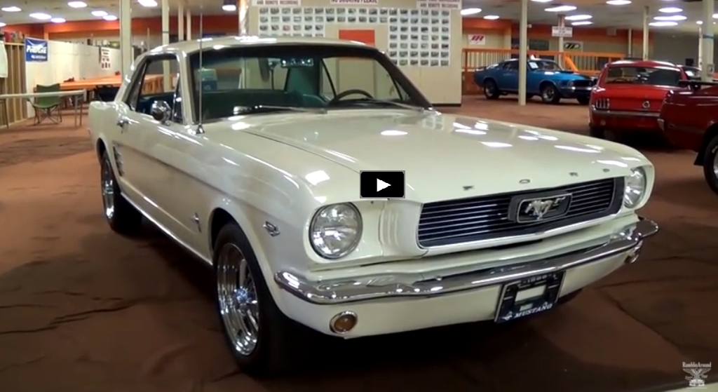 1966 ford mustang 289 video review