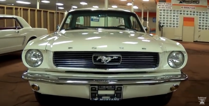 1966 ford mustang 289 4-barrel video