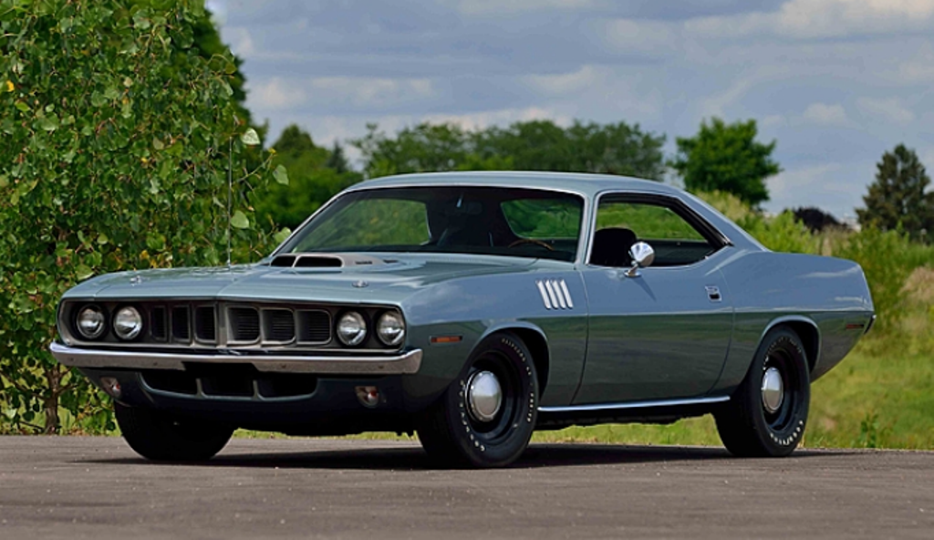 unrestored 1971 plymouth hemi cuda