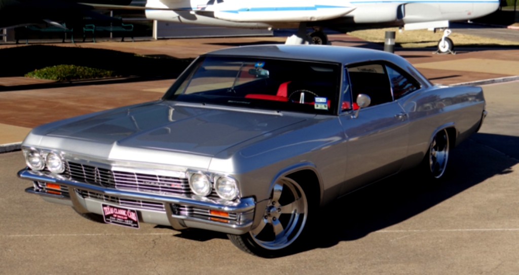 Gorgeous 1965 Chevrolet Impala Ss Restomod Video