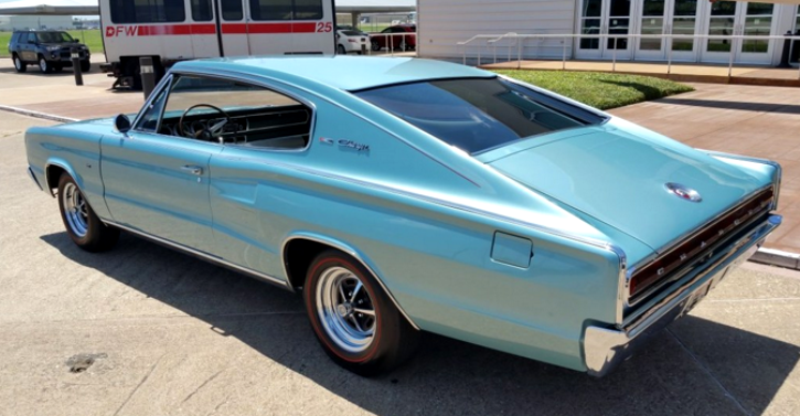 1966 dodge charger mint turquoise