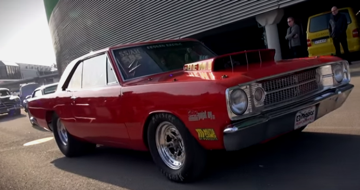 dodge hemi drag car videos