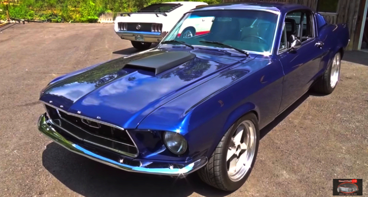 pro touring 1968 ford mustang fastback