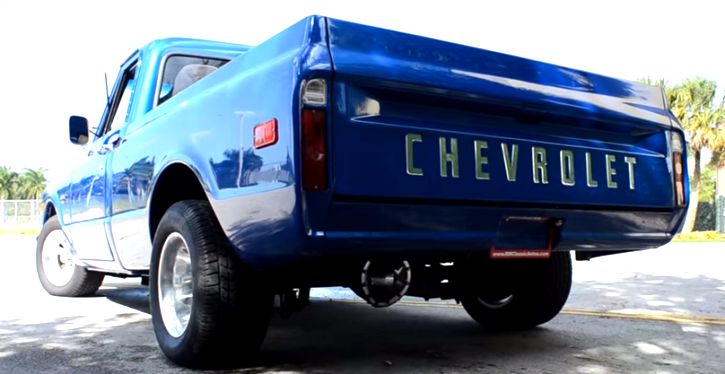 custom built 1970 chevrolet c10 pick up truck