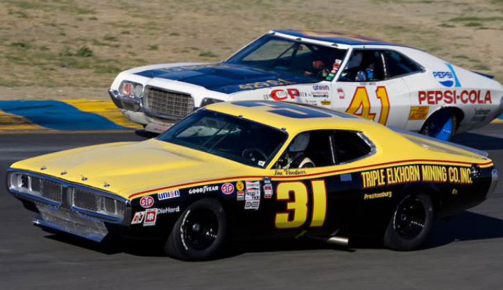 jim vandiver 1974 dodge charger race car