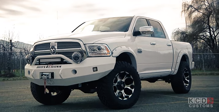 Image Gallery 2016 Lifted Ram 1500