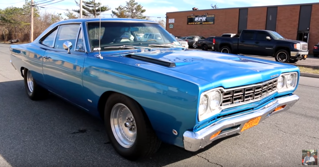 1968 plymouth road runner video review