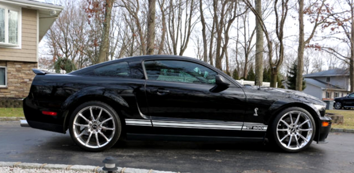 Immaculate 2009 Mustang Shelby Gt500 Show Winner