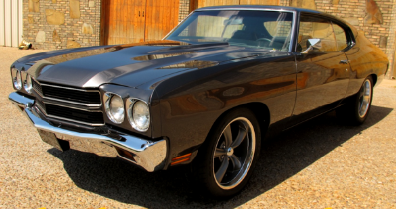 custom built 1970 chevy chevelle
