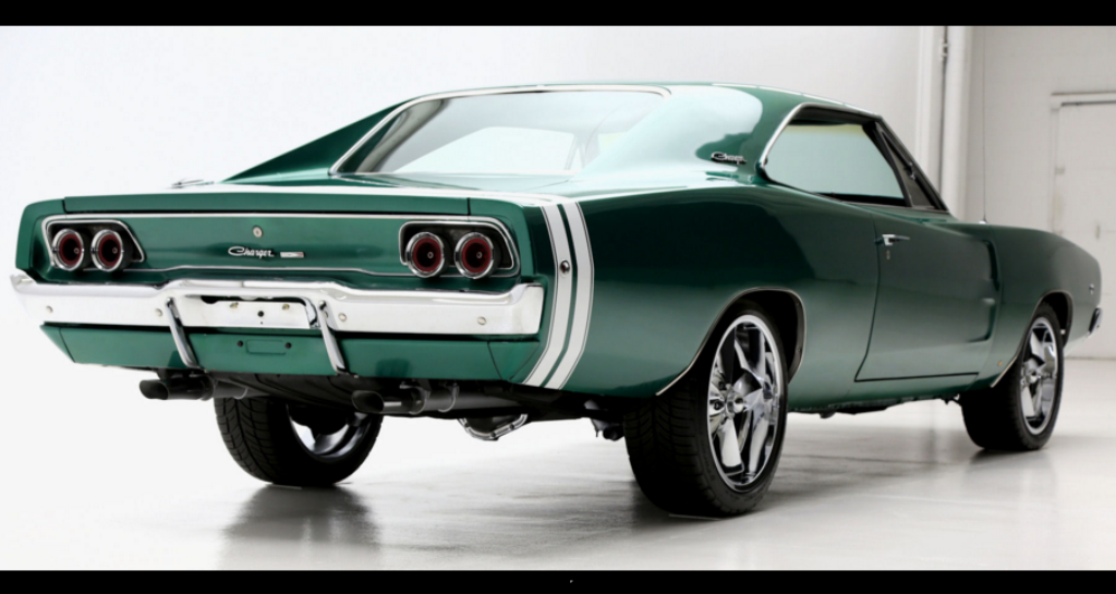 1968 dodge charger pro touring build