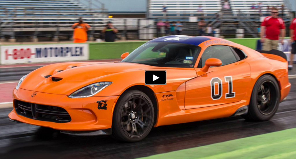 twin turbo dodge viper street car takeover