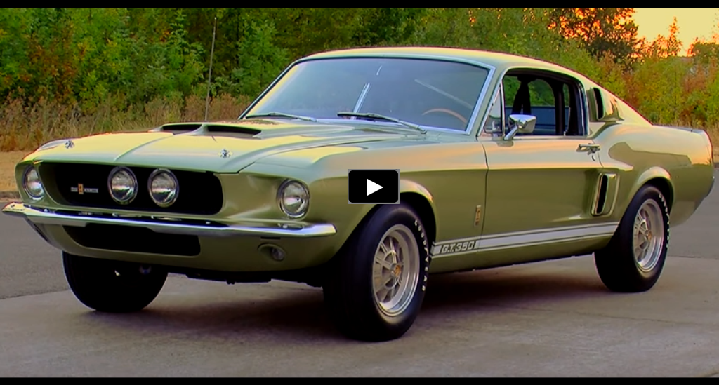 1967 mustang shelby gt350 brothers collection