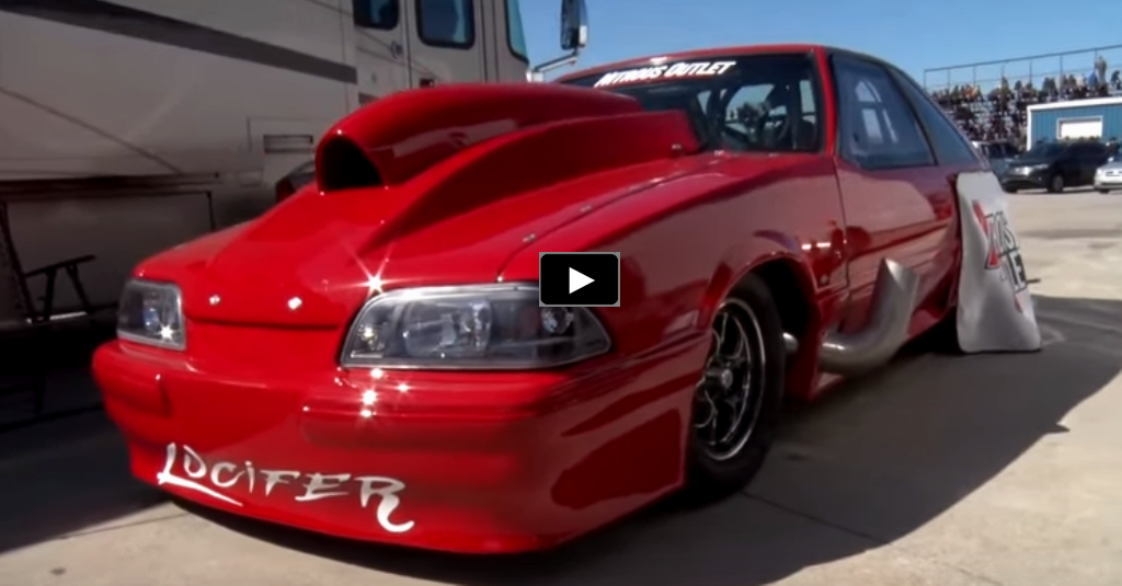 fox body big block mustang drag racing