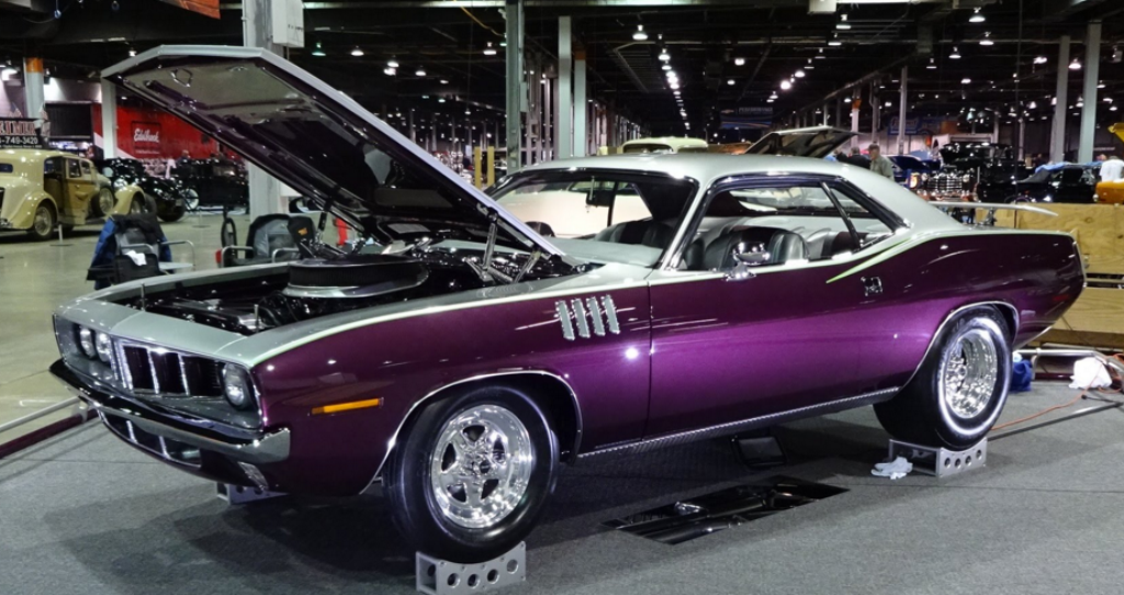 1971 plymouth cuda show car