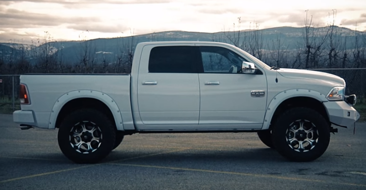 2016 ram 1500 long horn truck customization