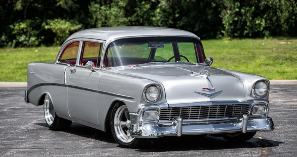 Top Notch 1956 Chevy 210 Restomod in Details | HOT CARS