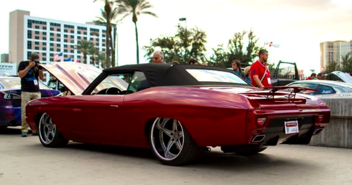 custom built 1970 chevelle destroyer