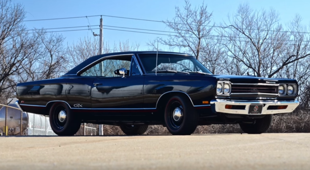 restored 1969 plymouth gtx 440